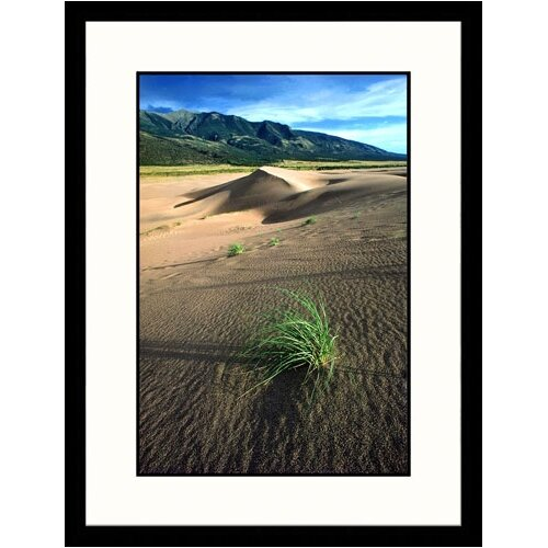 Great American Picture Landscapes 'Sand Dunes National Park, Colorado' by Pat Canova Framed Photographic Print