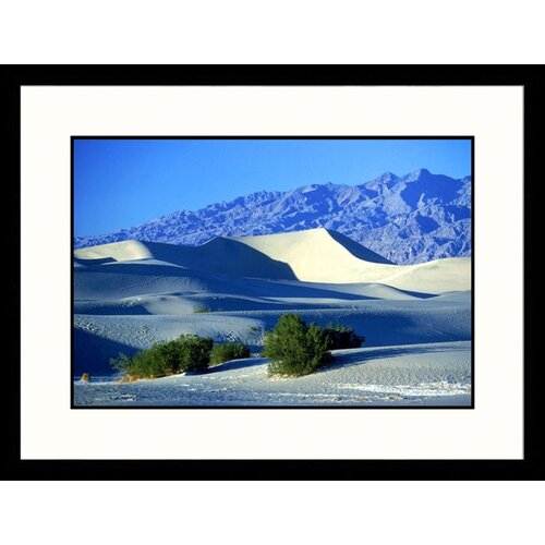 Great American Picture Landscapes 'Sand Dunes Grapevine Mountains, Death Valley, California' by David Carriere Framed Photographic Print
