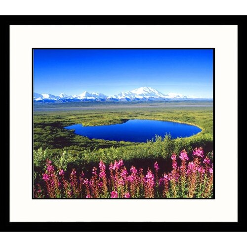 Great American Picture Landscapes Mount McKinley Framed Photographic Print