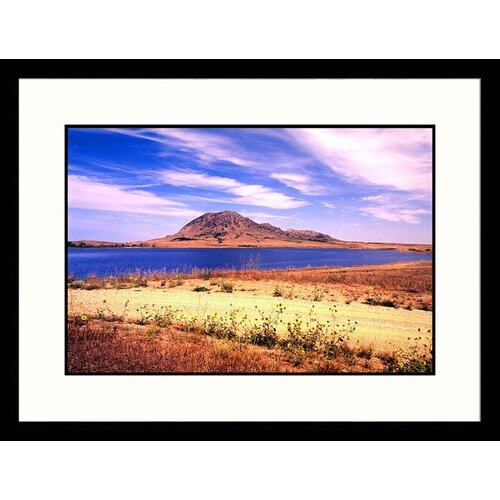 Great American Picture Landscapes 'Bear Butte State Park, South Dakota' by John Coletti Framed Photographic Print