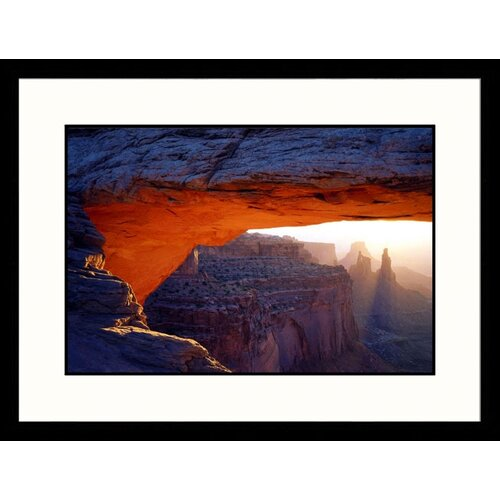 Great American Picture Landscapes 'Mesa Arch, Island in The Sky Canyonlands, Utah' by Jules Cowan Framed Photographic Print