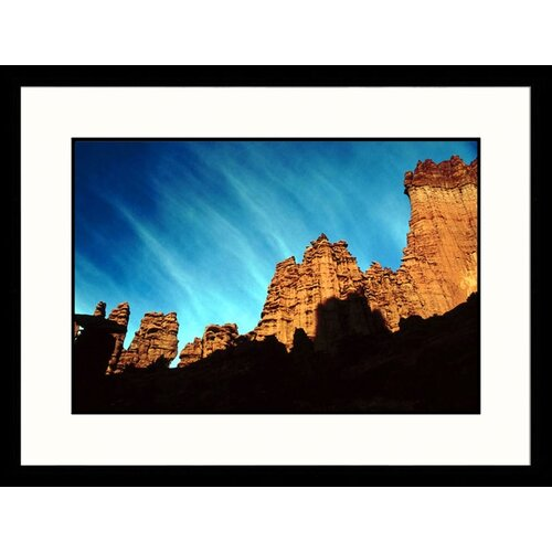 Landscapes 'Trail at Fisher Towers, Utah' by Lynn Eodice Framed Photographic Print