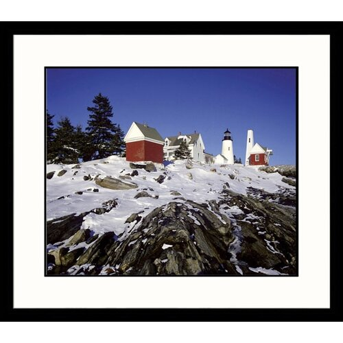 Great American Picture Landscapes Winter Light Framed Photographic Print