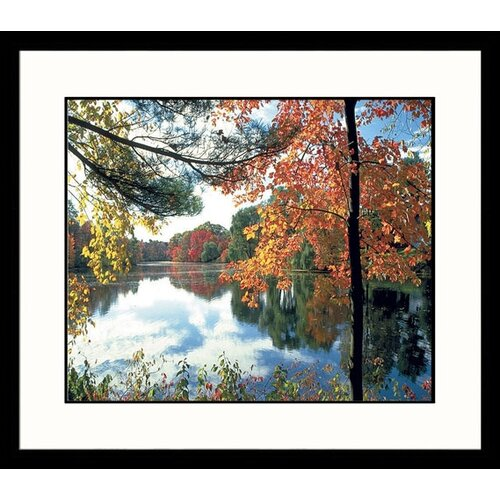 Landscapes Charles River Fall Framed Photographic Print