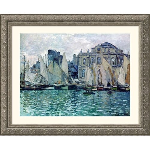 Great American Picture Museum Reproductions 'The Museum' by Claude Monet Framed Painting Print