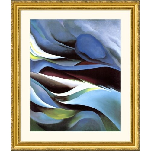 Great American Picture Museum Reproductions 'From the Lake No. 1' by Georgia O'Keeffe Framed Painting Print
