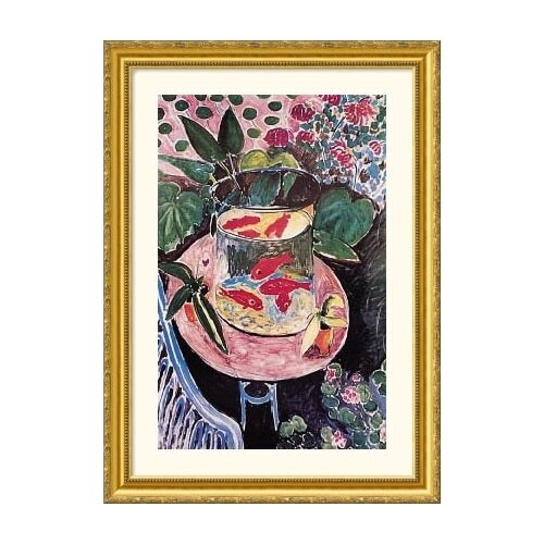 Great American Picture Museum Reproductions 'Goldfish' by Henri Matisse Framed Painting Print