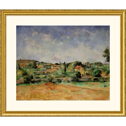 Great American Picture Museum Reproductions Earth by Paul Cezanne Framed Painting Print