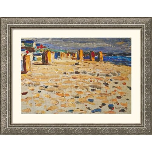 Great American Picture Museum Reproductions Kandinsky 11 by Wassily Kandinsky Framed Painting Print