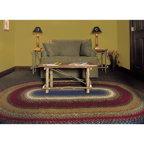 Homespice Decor Cotton Log Cabin Step Rug