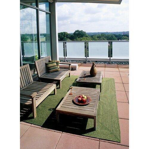 Homespice Decor Ultra-Durable Solid Indoor/Outdoor Rug