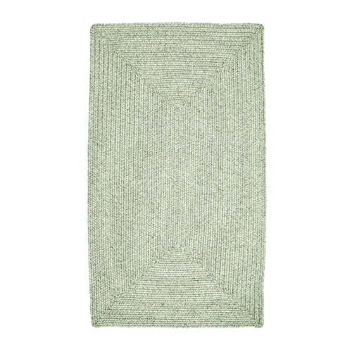 Homespice Decor Ultra-Durable Slate Solid Indoor/Outdoor Rug