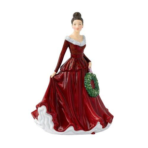 Mistletoe and Wine Figurine