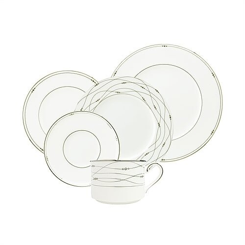 Precious Platinum 5 Piece Place Setting