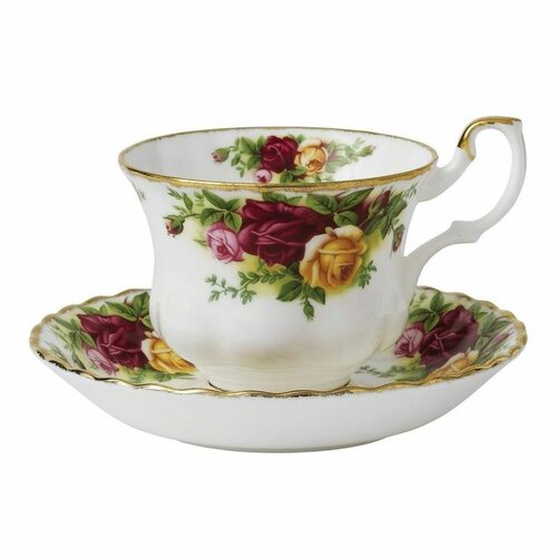 Royal Albert Old Country Roses 6.5 oz. Teacup and Saucer