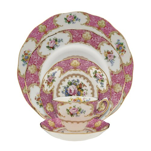 Lady Carlyle 5 Piece Place Setting