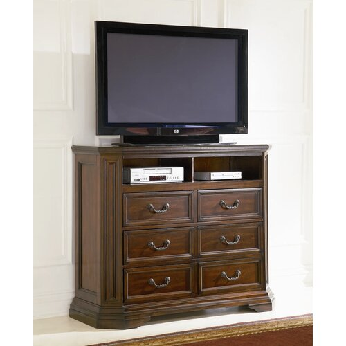Wildon Home ® Media 6 Drawer Chest