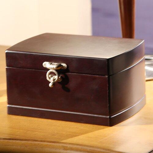 Wildon Home ® Treasure Chest Dual Layer Jewelry Box