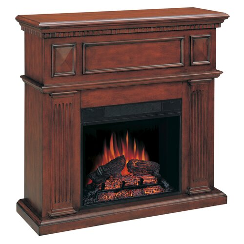 Wildon Home ® Tucker Fireplace Mantel in Mahogany
