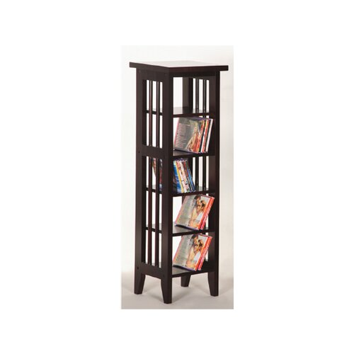 Wildon Home ® DVD Multimedia Storage Rack