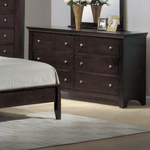 Wildon Home ® Montgomery 6 Drawer Dresser