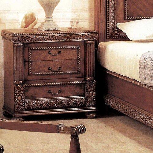 Wildon Home ® Bella 3 Drawer Nightstand
