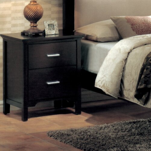 Wildon Home ® Reagan 2 Drawer Nightstand