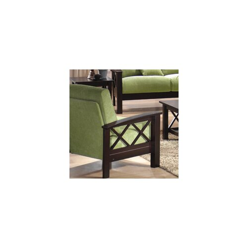Wildon Home ® Chenille Mission Armchair