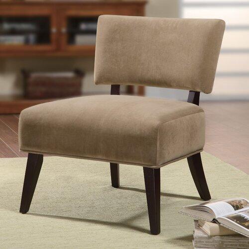 Oversized Fabric Slipper Chair