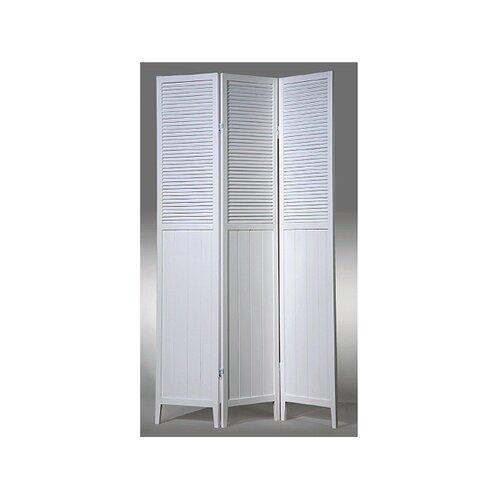 "Wildon Home ® 70"" x 48"" 3 Panel Room Divider"