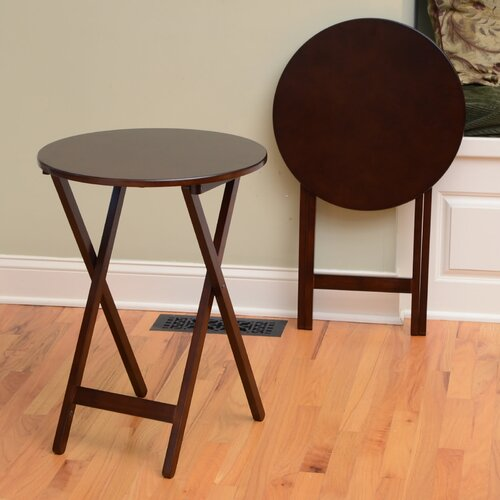 Wildon Home ® Bay Shore Folding End Table (Set of 2)