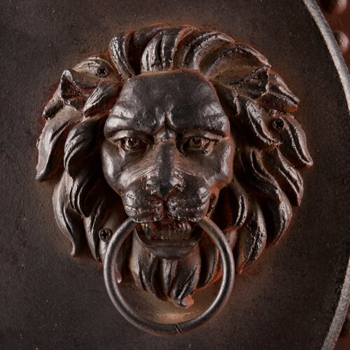 Wildon Home ® 2 Piece Lion's Head Gate Wall Décor Set