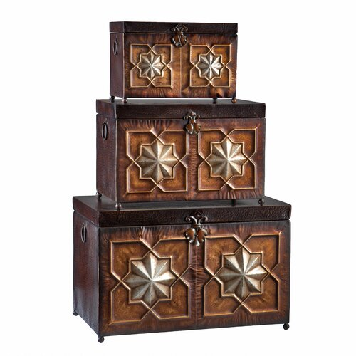 Wildon Home ® Trunk 3 Piece Set
