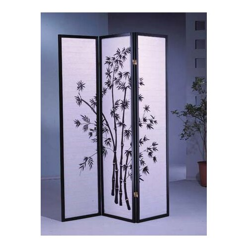"Wildon Home ® 70"" x 51"" Bamboo Shoji 3 Panel Room Divider"