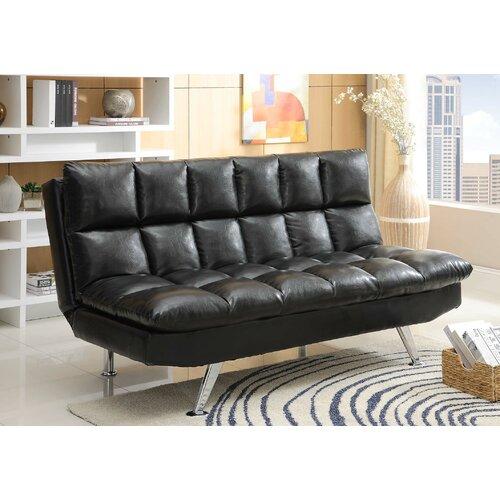 Wildon Home ® Adjustable Sleeper Sofa Futon and Mattress