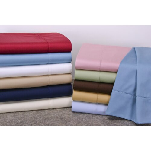 Wildon Home ® Hemstitch 400 Thread Count Sheet Set