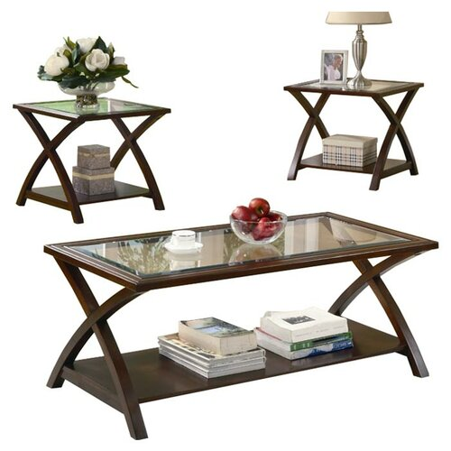 Wildon Home ® Bingham 3 Piece Coffee Table Set
