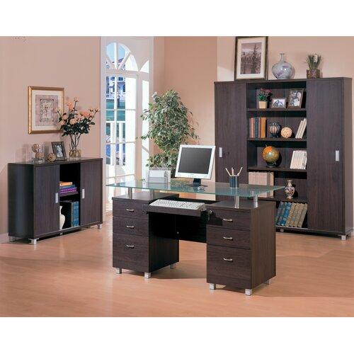 """Wildon Home ® Covina 72"""" Bookcase"""