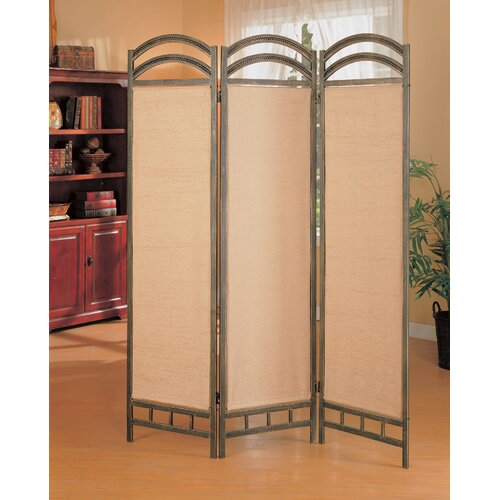 "Wildon Home ® 72"" x 56"" Oakville Folding 3 Panel Room Divider"