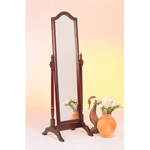 Wildon Home ® Cherry Sammamish Cheval Mirror