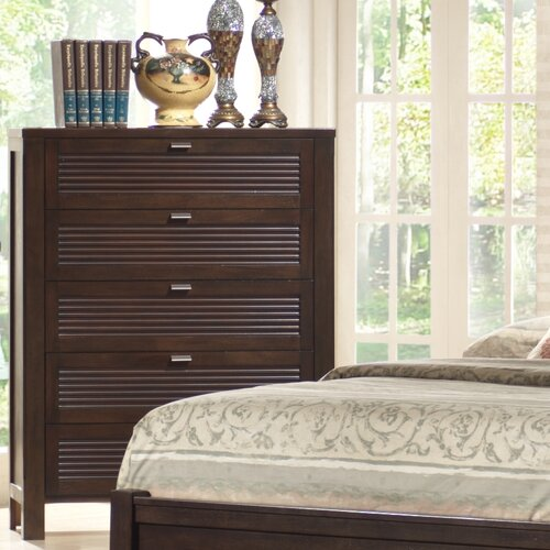 Wildon Home ® Amherst 5 Drawer Chest