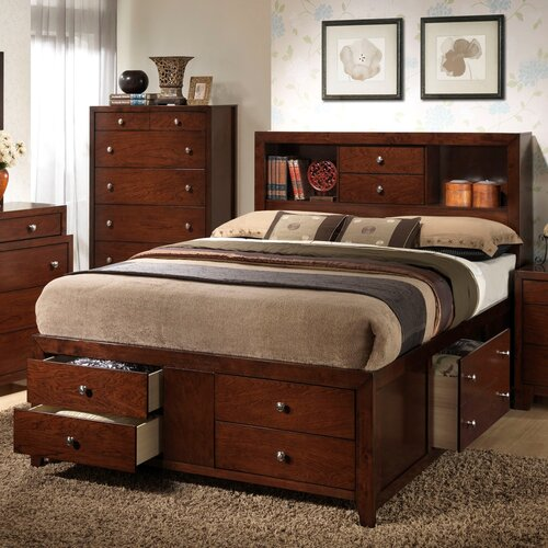 Wildon Home ® Weber Storage Panel Bed