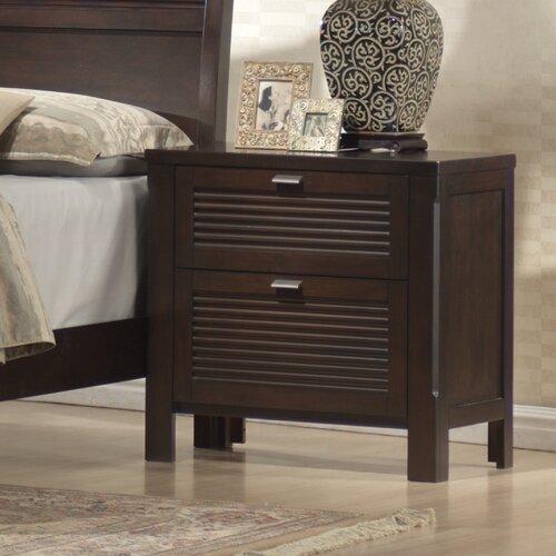 Wildon Home ® Amherst 2 Drawer Nightstand