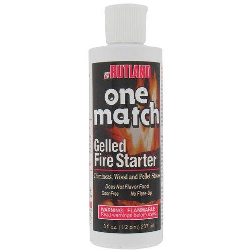Rutland 8 Oz. One Match Gelled Fire Starter