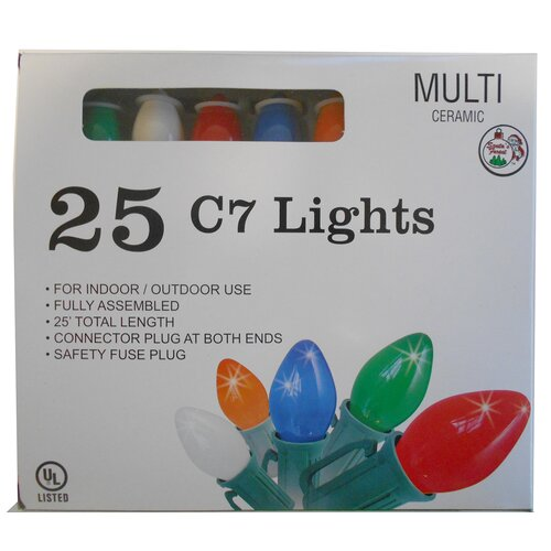 C7 25 Count Christmas Lights