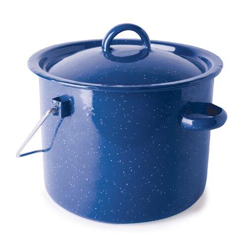 Cast Steel 3.2-qt. Straight Pot with Lid
