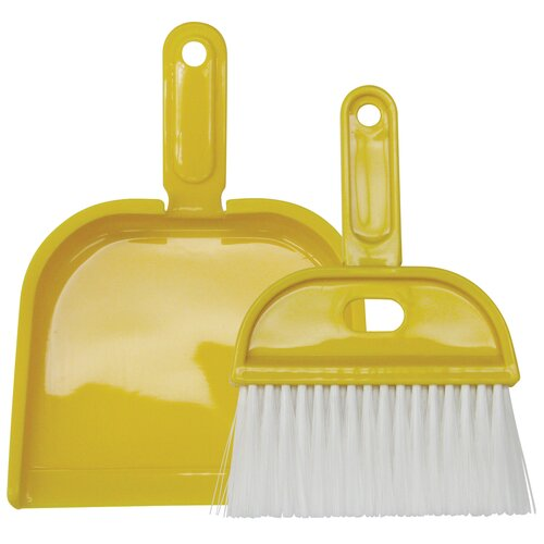 Wisk Broom and Dust Pan