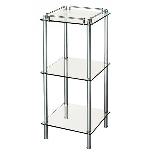 "Gatco Premier 14.5"" x 35"" 3-Tier Shelf"