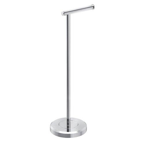 Gatco latitude ii free standing toilet paper holder Toilet paper holder free standing