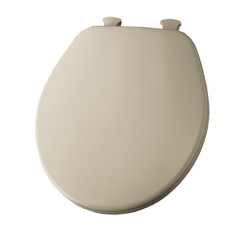 Bemis Molded Wood Decorator Round Toilet Seat